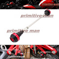 For DUCATI Monster 696 796 2010-2014  Motorcycle Frame Sliders Crash Protector Red
