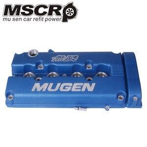 Image 4 - MUGEN GUNMETAL מנוע שסתום כיסוי עבור B16 B18 אקורה Integra GSR DOHC VTEC