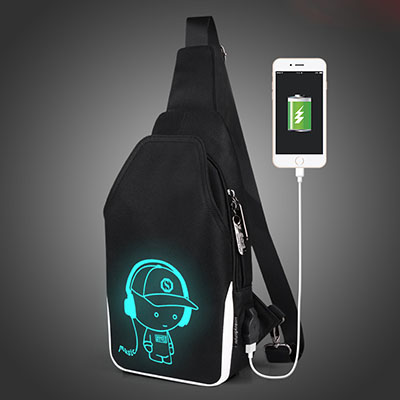 Luminous Animation Back to School Backpack 9
