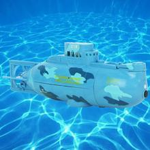 Two-Colored Mini Submarine Toy with Remote Controller for Kids