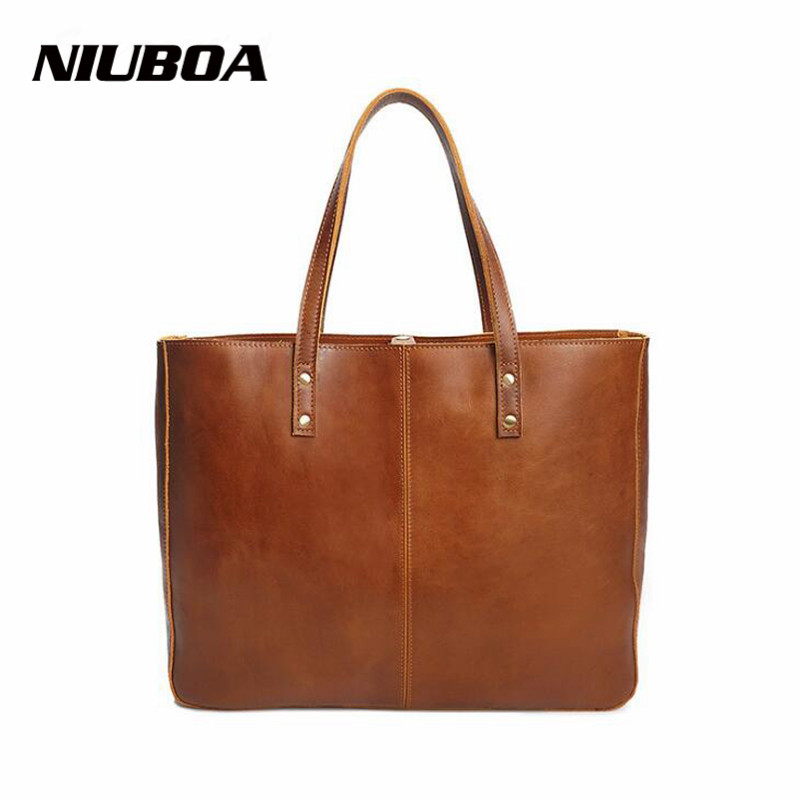 NIUBOA Women Cowhide Messenger Bag Luxury 100% Natural Genuine Leather Handbags Euro Style Female General Shoulder Bags soft cowhide genuine leather women shoulder bags fashion handbags simple european style boston messenger bag pillow female packs