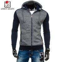 Winter Hoodie Male Cardigan 2017 New Long Sleeve Hoodies Men Fleece Sweatshirt Hoodies Mens Hooded Plus