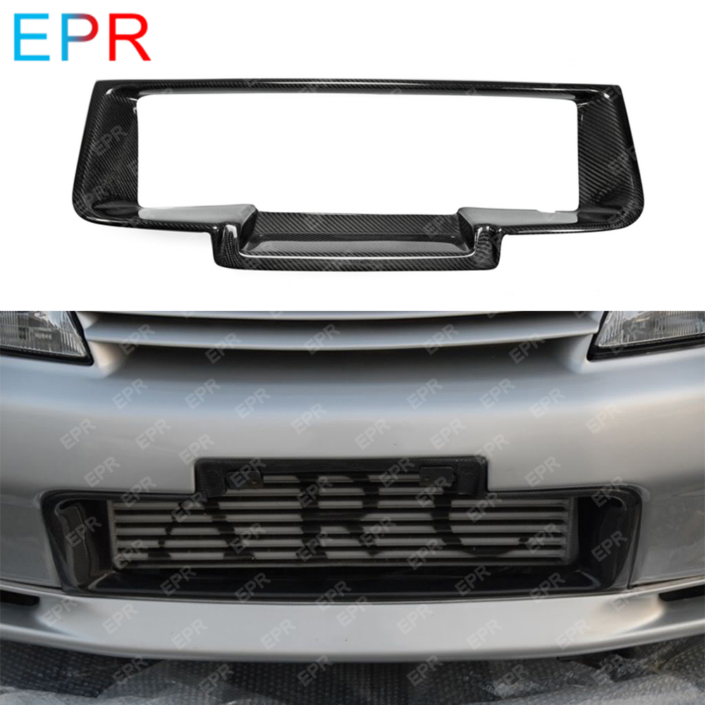 Carbon Fiber For R32 GTR Front Bumper Intercooler Surround Duct Cover