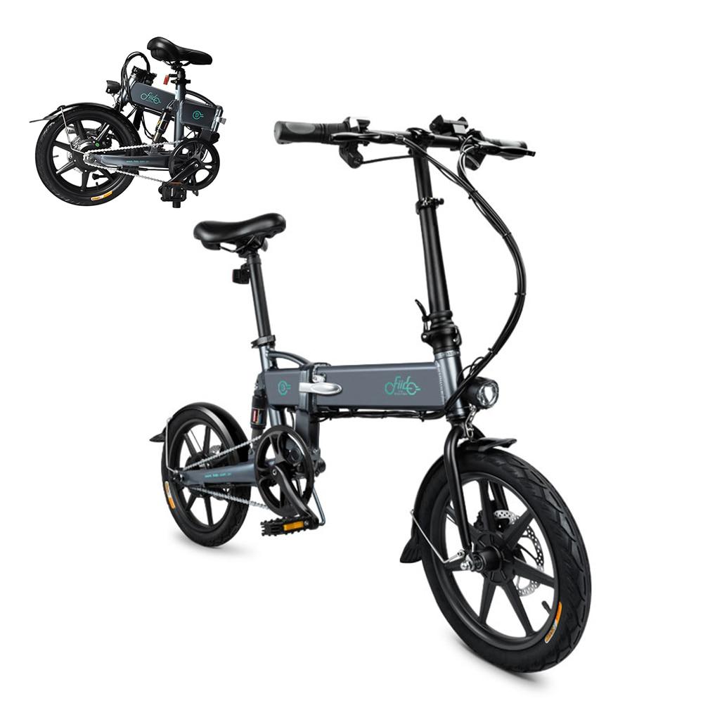 E bike 16 Inch Folding Power Assist Eletric Bicycle Moped E-Bike 250W Brushless Motor 36V 7.8AH Maximum Speed 25km/h e-bike
