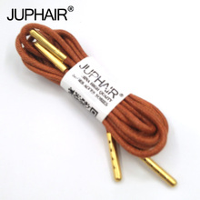 1-12 Pairs Red Brown Sneaker Solid Polyester Twisted Shoes Metal Head Shoelaces High Quality Unise Laces Waxed Round Shoelaces недорого