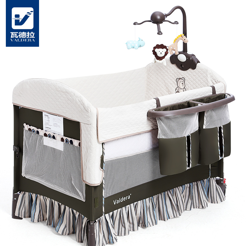 High quality export baby bed folding portable travel bed 3 colors in stock  Hong Kong free delivery without changing table босоножки foot in hong kong z14cl6610