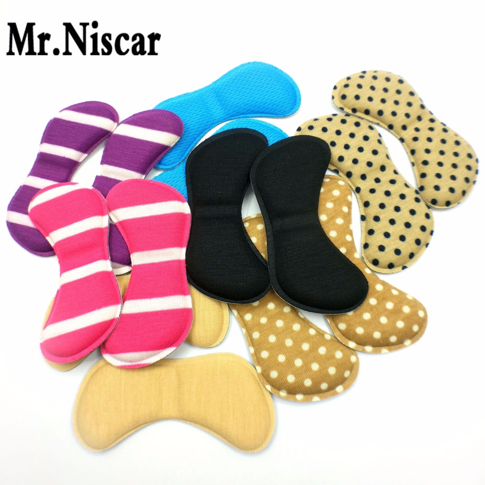 Mr.Niscar 1 Pair Butterfly-Shape Insoles High Heel Shoes Pad Super Soft Insole Non-slip Sponge Shoe Cushion Foot Heel Protector цена