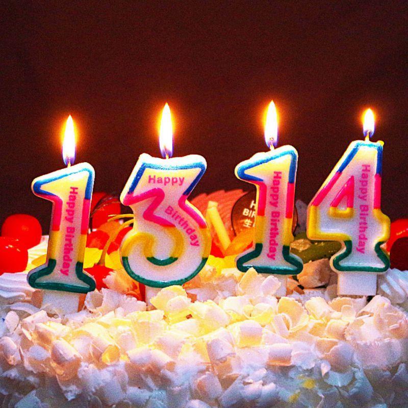 Pleasing 1Pc Cute Cartoon Comic Birthday Candles Number Birthday Candles Birthday Cards Printable Riciscafe Filternl