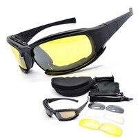 Neue Art Daisy X7 Wüste Sonnenbrille Tactical Goggles Outdoor Sports UV400 Augenschutz Reiten Radfahren Gläser