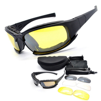 New Type Daisy X7 Desert Sun Glasses Tactical Goggles Outdoor Sports UV400 Eye Protective Riding Cycling
