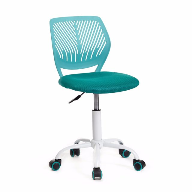 Aingoo Office Task Desk Chair Adjustable Mid Back Home Children Study Chair  Without Arms 360 Degree Rotating Wheel Chair