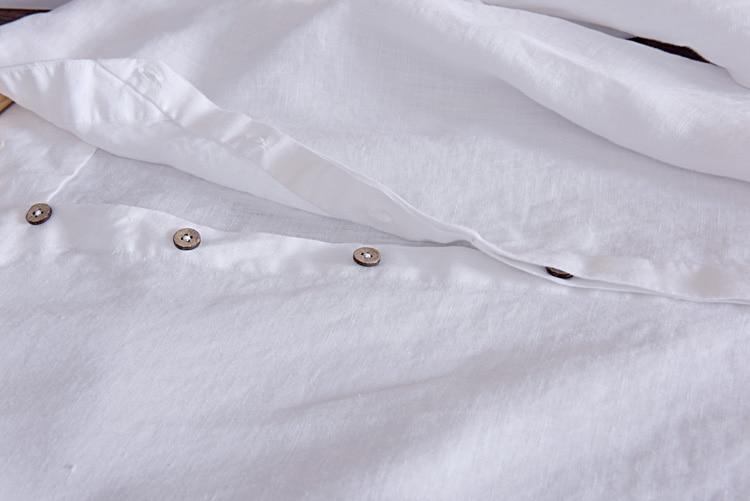 Këmishë për meshkuj Camisa Shirt Veshje për markë prej liri për - Veshje për meshkuj - Foto 6