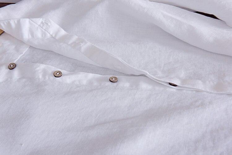 Camisa masculina Shirt Lelaki Linen Designer brand clothing Lelaki - Pakaian lelaki - Foto 6