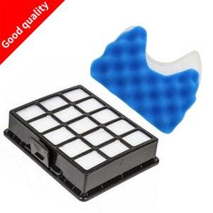 Aspirador de pó E Filtros de Esponja do Filtro para samsung DJ97-00492A SC6590 SC6592 SC6520 SC6530 40 50 60 70 80 90 S6580 SC6532