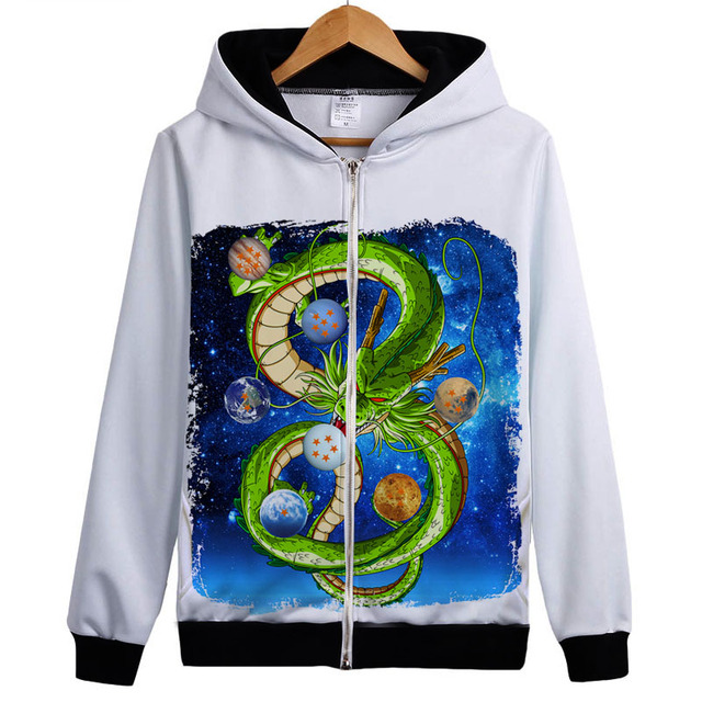 Dragon Ball Z Spring Hoodie  Jackets and Coats