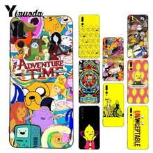 Yinuoda Adventure Time Coque Shell Phone Case for Huawei P9 P10 Plus Mate9 10 Mate10 Lite P20 Pro Honor10 View10(China)