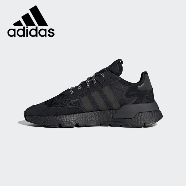 9cf4e5cd96a US $99.69 32% OFF|Official Authentic Adidas Originals Nite Jogger Men and  Women Running Shoes Outdoor Sports Comfortable Shoes Shock BD7954 HL-in ...