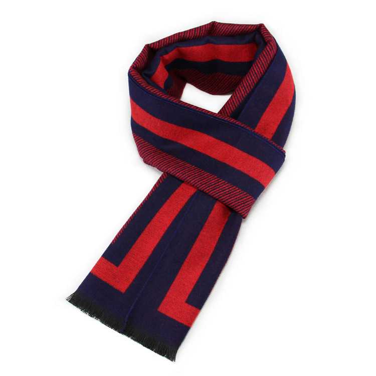 New 2018 Men's Scarf Is Made of Silk and Cashmere Winter Scarf Blanket Hair Adult Scarf Clothing Accessorie Daddy's Holiday Gift