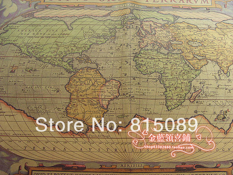 Vintage world map gift wrapping paper craft wall paper festival vintage world map gift wrapping paper craft wall paper festival party supplies 30 pcs 7552cm free shipping on aliexpress alibaba group gumiabroncs Gallery