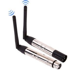 Image 2 - 2,4G беспроводной DMX512 R/T 3 контактный мужской/женский приемник XLR Передатчик Расстояние связи 400 м для сценического освещения