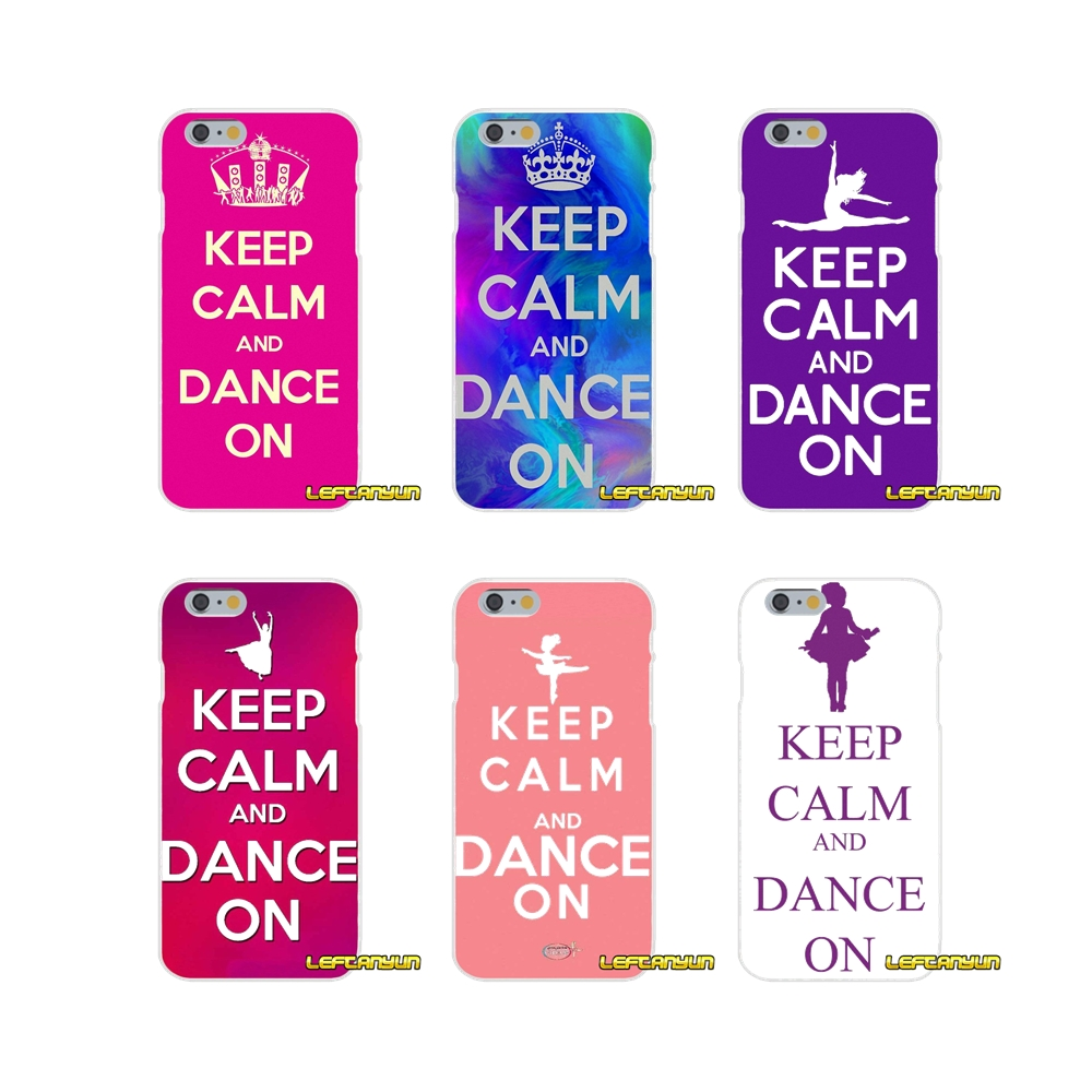 Keep Calm and Dance On Soft Silicone phone Case For Samsung Galaxy S3 S4 S5 MINI S6 S7 edge S8 Plus Note 2 3 4 5