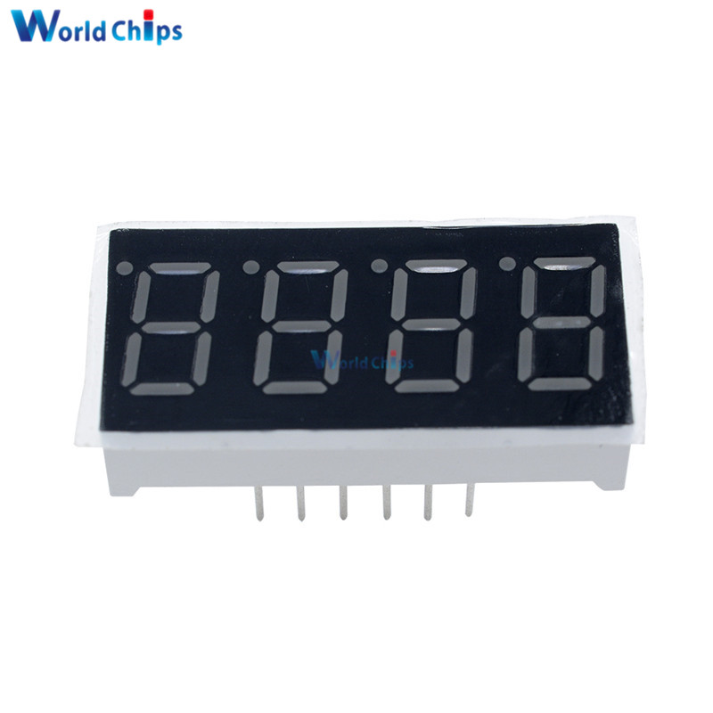 Display With Led 7 Segment By Ic Cmos Electronic Projects Circuits
