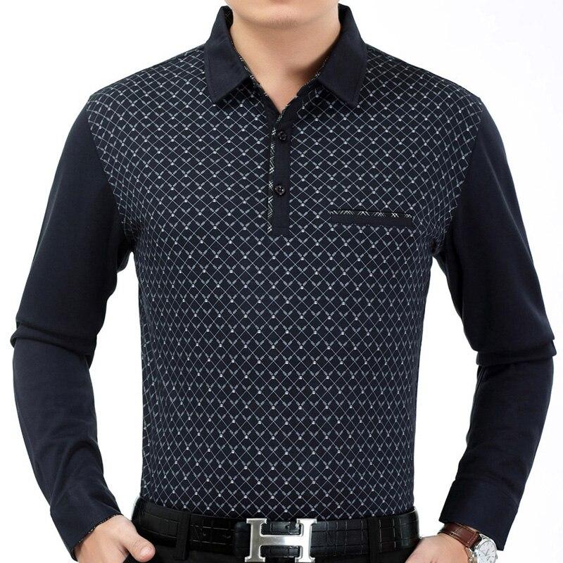 Fashion Mens Slim Fit Long Sleeve Polo Shirt Casual Dress ...   Men Polo Long Sleeve Dress