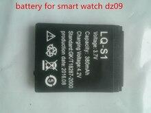 2016 hot 5 teile/los batterie für smart watch dz09 smartwatch ersatzakku für smart watch dz09