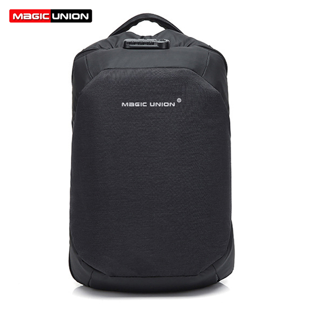 1a2a31873a3f MAGIC UNION Men s Travel Bag Man Swiss Backpack Polyester Bags Waterproof  Anti Theft Backpack Laptop Backpacks Men + Raincover