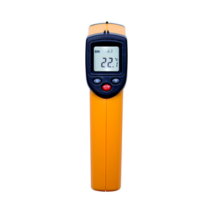 Image 2 - Digital gm320 Infrared Thermometer non contact infrared thermometer temperature Pyrometer IR Laser Point Gun   50~380 degree