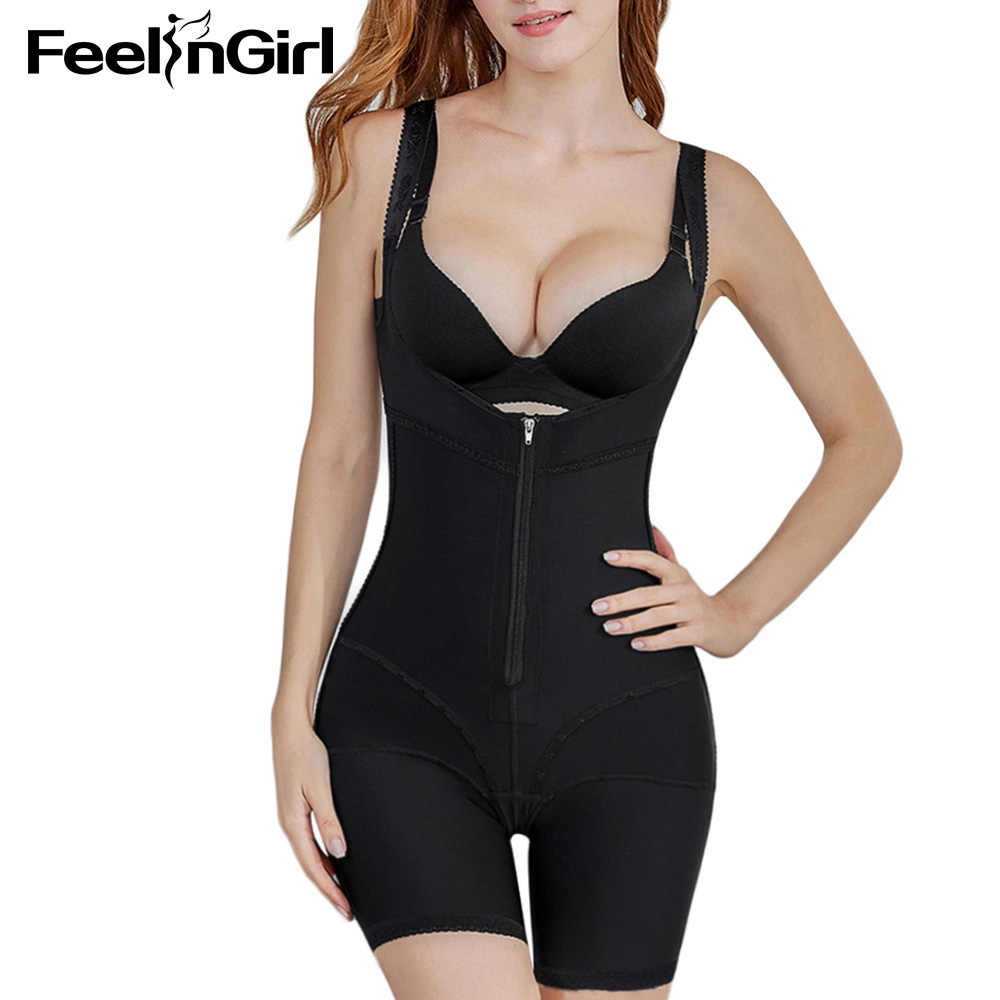 34d37623c44 ... Feelingirl Waist Corset Girdle Slimming Push Up Bodysuits Tummy Control  Full Body Shaper Postpartum Slimming Underwear ...