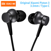 Original Xiaomi Earphone Mi Piston 3 Fresh Version In-Ear wi