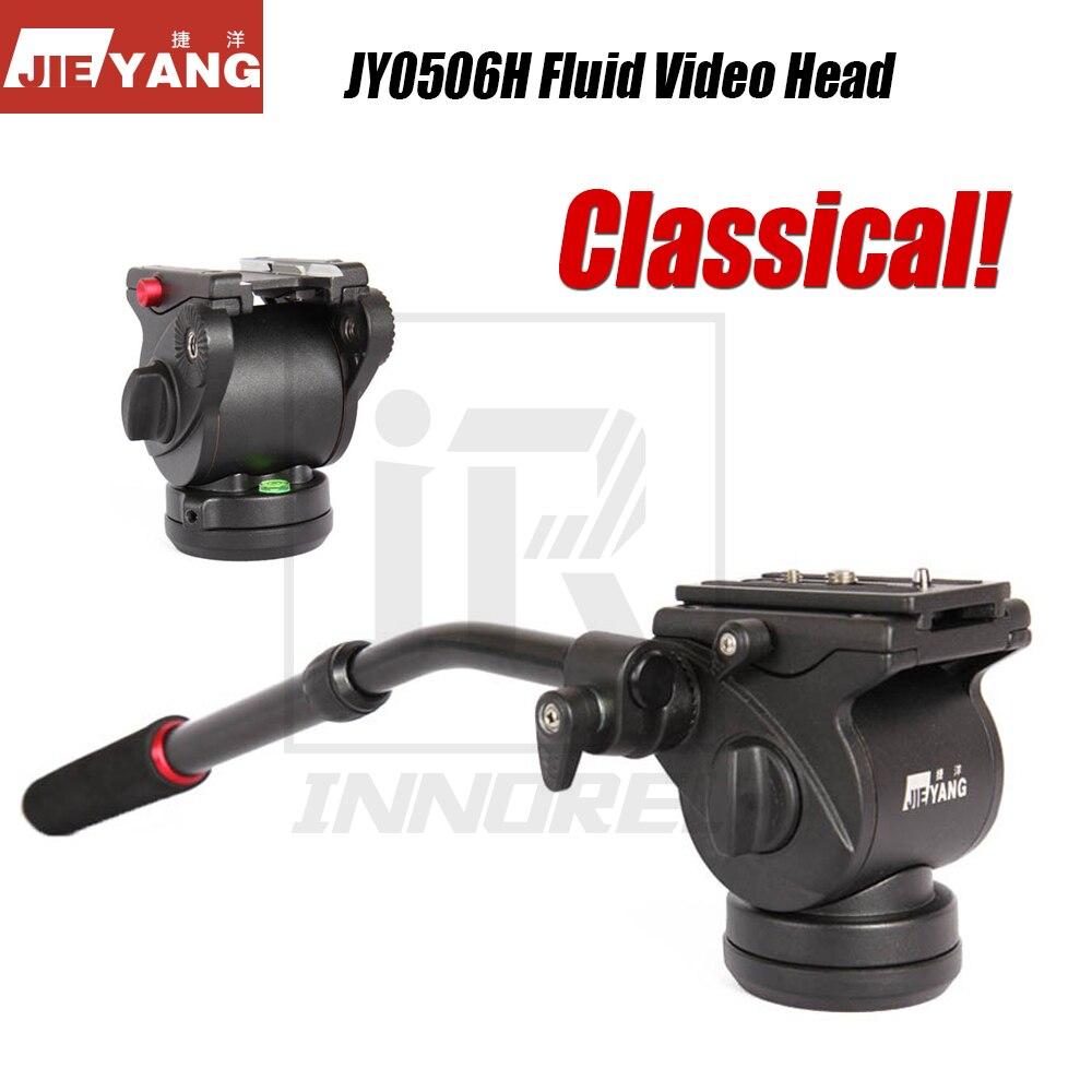 Classique JIEYANG JY0506H fluide vidéo tête pour trépied monopode curseur panoramique prise de vue vidéo Film DSLR caméra hydraulique