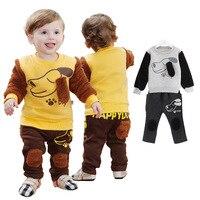 Anlencool 2019 מיהר אמיתי מעיל פתוח תפר Roupas Meninos חורף תינוק בגדי כותנה פשתן גור בגדי חליפת יילוד ללבוש