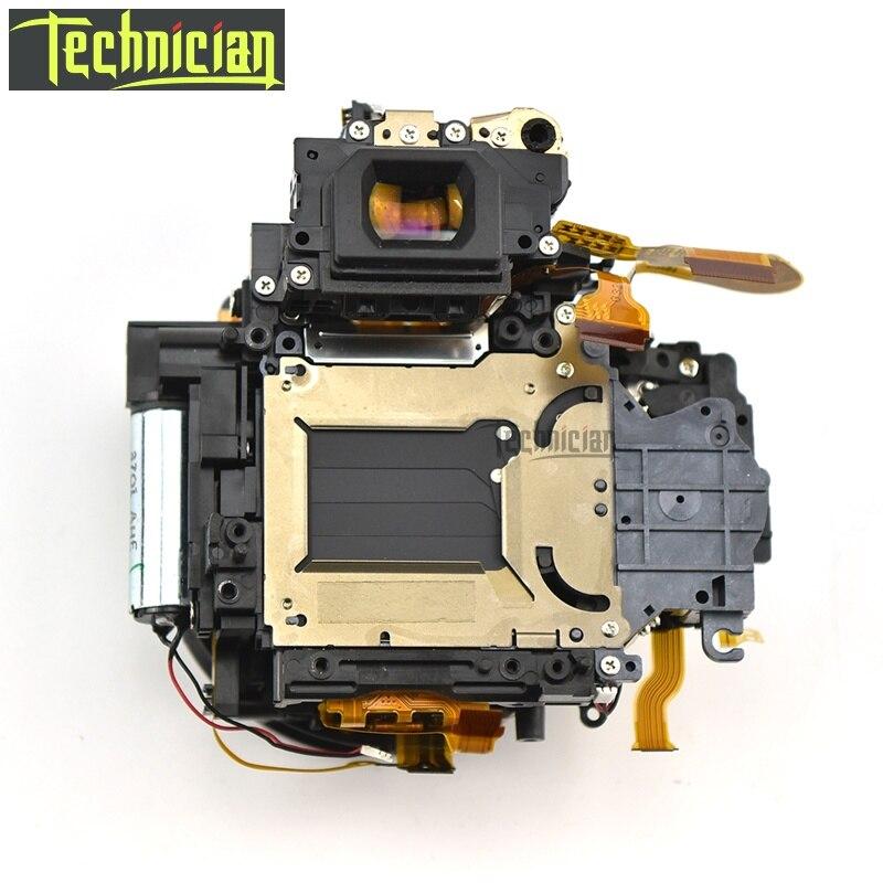 Boîte de corps principal de boîte de miroir 60D avec l'assemblage d'obturateur et les pièces de rechange d'appareil-photo d'unité de viseur pour Canon
