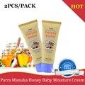 2PCS NewZealand Parrs Manuka Honey Baby Moisture Cream for dry skin Soothe soften Moisturise baby's delicate skin Parabens Free