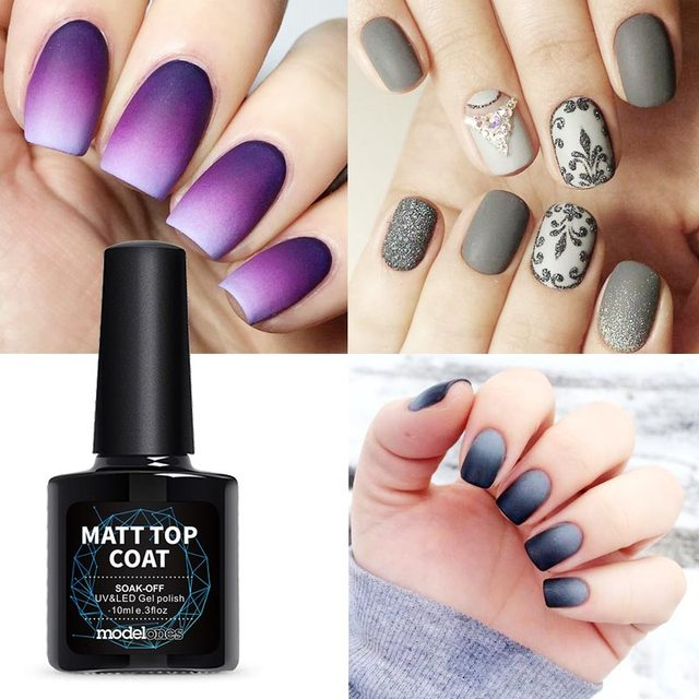 Modelones High Quality Matte Gel Nail Polish Top Coat Diy
