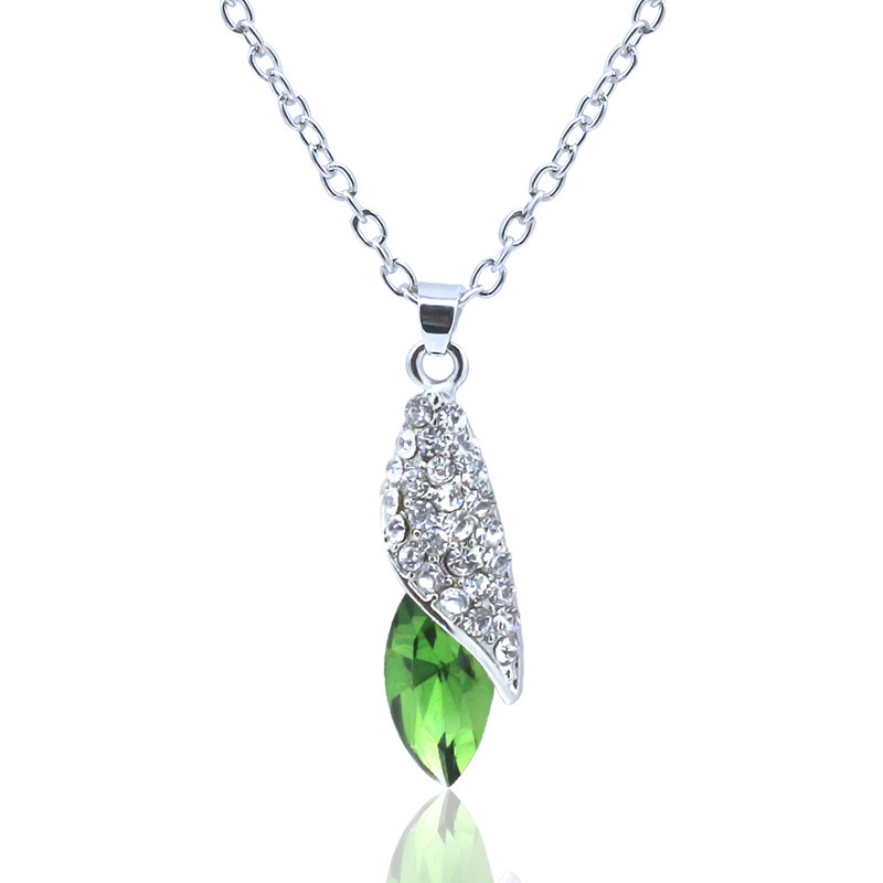 Most Popular Gifts For Women 2016 Part - 32: 706 Special Offer Most Popular Korean Upscale Gift Austrian Crystal  Imitation Gem Pendant Necklace For Women