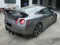 GTR35 Rear Spoiler Skyline GT R35 Trunk Wing Wald Big Spoiler For Nissan GTR