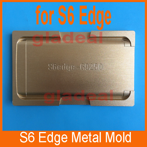 Quality Aluminium Alloy Mould Mold for Samsung S6 Edge of LCD Touch Screen Separator Display Repair Refubish Machine Tool