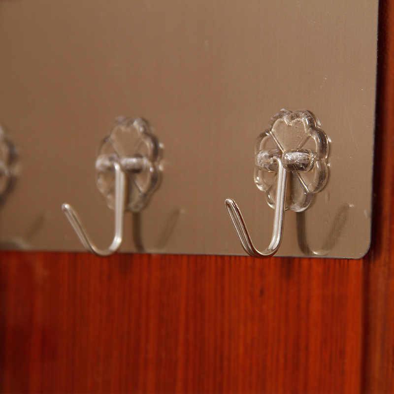 الشماعات لزجة الحمام مع 3/6 خطاف الجدار/الباب حامل معلق للمفتاح/منشفة/مجفف الشعر/ملعقة/الملابس/فرشاة 12 كجم الحاملة