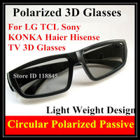 2013 Circular Polarized 3D Glasses For LG 3D TV 3d Glass Smart Or 3D Movie TV
