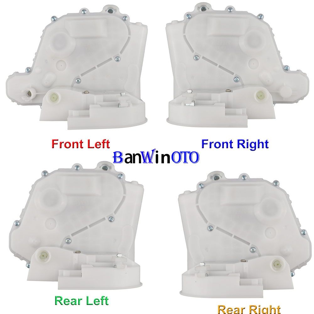 Eynpire 7127 Front Left Driver Side Door Latch w//Integrated Lock Actuator Motor Replaces VW 3B1837015AK 3B1837015J 3B1837015AS