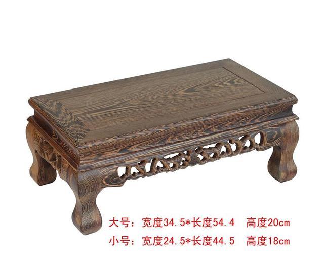 Extra large alitas de pollo de madera tallado HangJi actuar el papel ofing artículos de equipamiento del hogar jade Buddha mammon