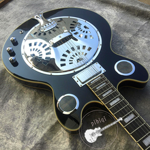 Альтернативная гитара черный белый аппаратное мастерство идеально настраиваемый