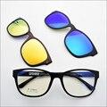 Tungsteno Partido Vasos de Tit Funcional Imán Clip de La Miopía Gafas de Sol Polarizadas Gafas de gafas de visión Nocturna jkk74