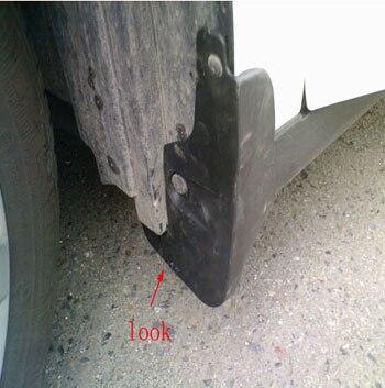 Бесплатная доставка для Nissan Almera 2012 Брызговики гвардии грязезащитные Крылья Всплеск закрылки Автоаксессуары 4 шт.