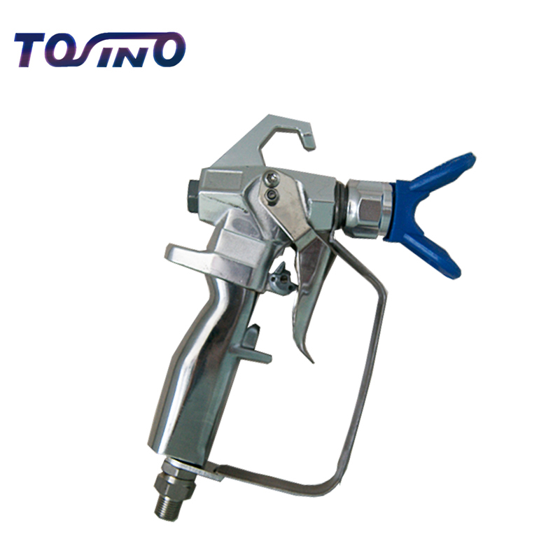 High Pressure airless paint sprayer gun Contractor 2-finger 3600Psi 24.8MP airless paint sprayer gun No spraying Machine japan printhead dx4 solvent print head for roland sc540 545ex with without serial number get 2pcs dx4 small damper free