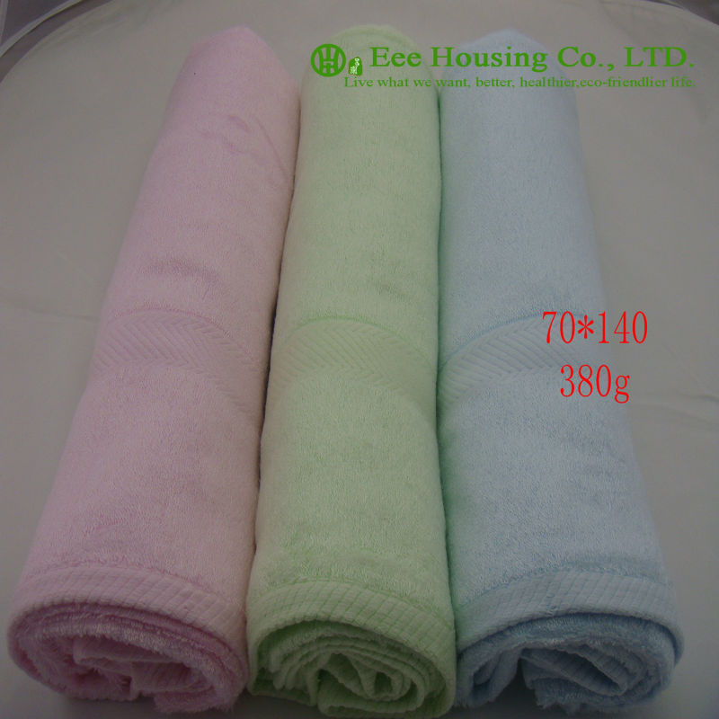 Free Shipping,Bamboo Fiber Bath Towel, Eco-friendly 70cm*140cm,organic And Anti-bacterial Bamboo Towel,Quick-Dry, Sent Randomly