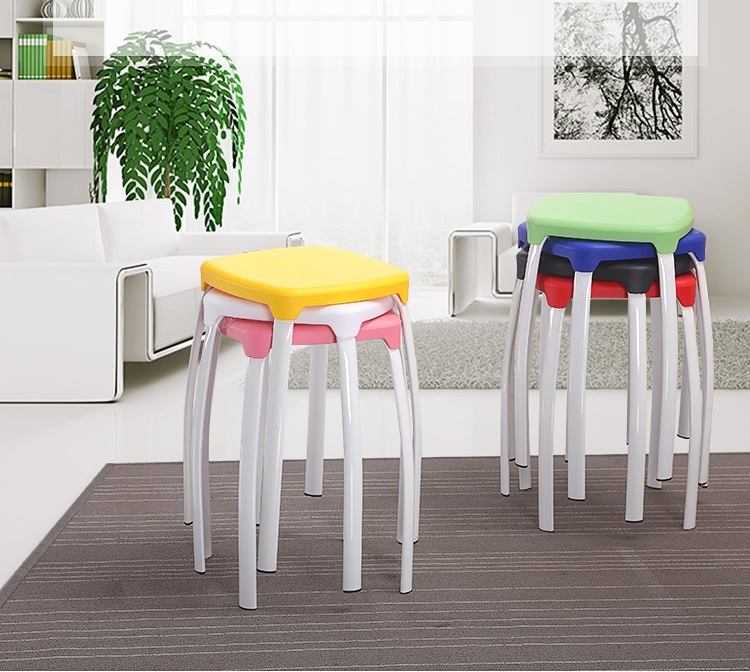 European Country Bar Stool winehouse living room PP seat stool retail wholesale design free shipping regal bar stool villa living room coffee stool yellow red color furniture shop retail wholesale design free shipping
